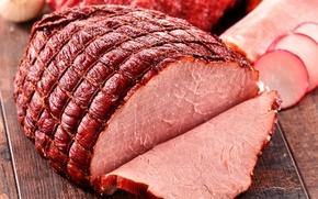Picture meat, Meat, ham, Ham