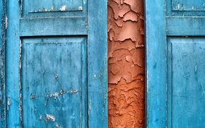 Picture background, wall, shutters