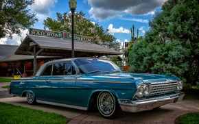 Picture retro, Chevrolet, classic, Impala, Chevrolet Impala