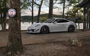 Picture Porsche, Classic, Black, with, 300, 991, Satin, HRE