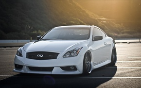 Picture tuning, coupe, white, infiniti, Coupe, Infiniti G37