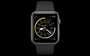 Picture Apple, watch, Watch, CA, matrix, menu, iOS, Retina, Apple Watch, Cupertino
