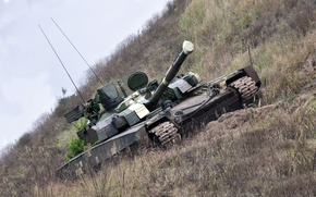 """Picture tank, Ukraine, armor, military equipment, MBT, T-84 """"Stronghold"""""""