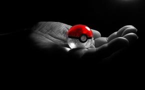 Picture ball, Hand, pokeball