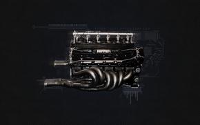 Picture Engine, Ferrari, Ferrari F1 Engine, 1995 F1 Engine