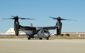 Wallpaper USA, the rise, BBC, Air, the tiltrotor, Osprey, Bell-Boeing, Force, United, States, CV-22