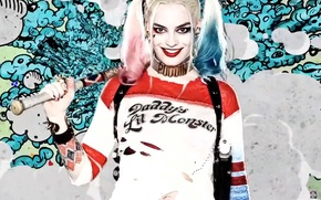 Picture Harley Quinn, Harley Quinn, Margot Robbie, Margot Robbie, Suicide Squad, Suicide Squad