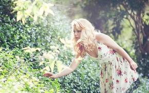 Picture summer, dress, Sandra Onofrei