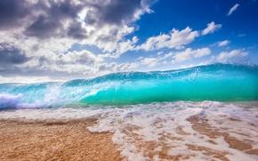 Wallpaper water, squirt, the ocean, element, shore