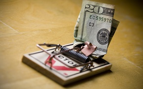 Picture macro, money, mousetrap, dollars