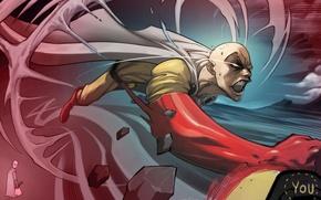 Picture Art, Saitama, OnePunch-Man, SuperHero