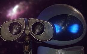 Picture robot, wall-e, valley, rendering, jackdarton