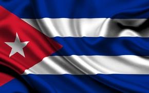 Picture flag, Cuba, cuba