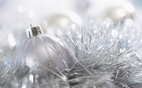 Picture Holiday, tinsel, background, picture, Christmas, flickering, ball, Wallpaper, new year, mood, decoration, Christmas
