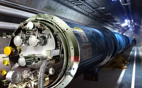 Wallpaper The large hadron Collider, pipe, 158
