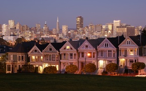 Picture city, the city, USA, California, San Francisco