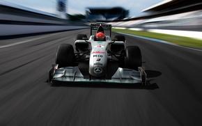 Picture MGP W01, Mercedes GP