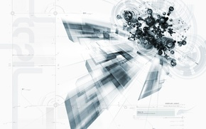 Wallpaper movement, flight, techno