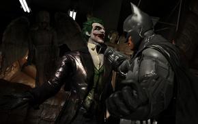 Wallpaper Joker, Batman: Arkham Origins, Bruce Wayne, DC Comics