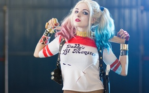 Wallpaper the villain, Cosplay, Harley Quinn, Suicide squad, Suicide Squad, Harley Quinn, Warner Bros, Cosplay