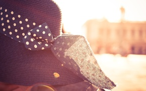Picture the sun, hat, bow