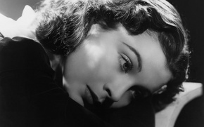Picture movies, black and white, actress, Vivien Leigh, Vivien Leigh, Oscar, Scarlett O'hara, two, the role, …