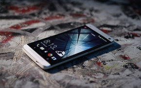 Picture stylish, smartphone, htc one