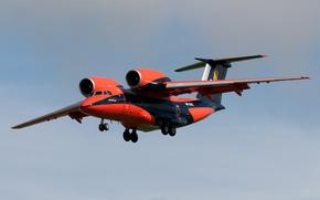 Picture the plane, transport, An-74, Cheburashka