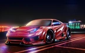 Picture Ferrari, Berlinetta, F12, by EmreFast, TDW Styling