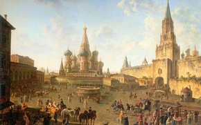 Picture picture, Moscow, Red Square