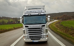 Picture track, Scania, Highline, R480, trucker