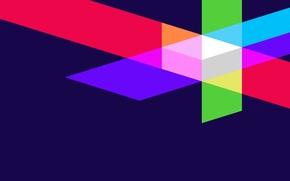 Wallpaper color, light, line, strip, figure, Wallpaper