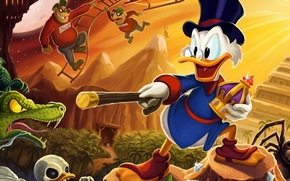Picture duck, Scrooge McDuck, Scrooge McDuck, DuckTales Remastered