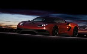 Picture supercar, render, rechange, McLaren, virtual tuning, mclaren f1