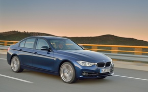Picture BMW, BMW, Profile, Sport Line, 2015, 340i