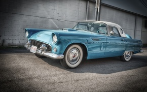 Picture Ford, Ford, the front, 1956, Thunderbird, Tendered