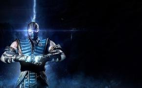 Picture blue, ninja, Sub-Zero, Mortal Kombat X