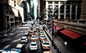 Picture New York, Street, Taxi