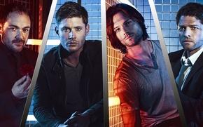 Picture Supernatural, Jensen Ackles, Supernatural, Dean Winchester, Sam Winchester, Over The Padalecki Jared, Castiel, Misha Collins, …