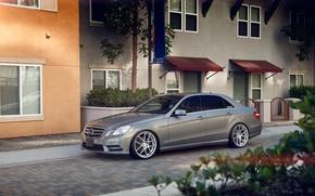 Picture Mercedes, wheels, E350