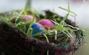 Picture holiday, eggs, Easter, Basket