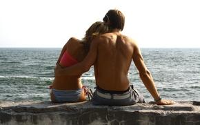 Picture sea, love, feelings, Summer
