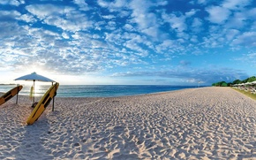 Picture sand, beach, the ocean, Bali