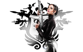 Picture girl, weapons, saints row, the third