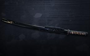 Wallpaper sword, katana, samurai