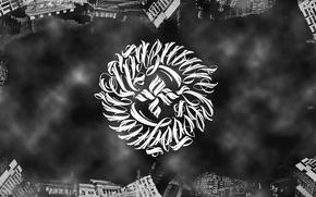Wallpaper Music, Logo, Art, Art, Music, Wallpaper, Russian Hip-Hop, Black & White, ОУ74, Undeground, Tankograd Underground, ...