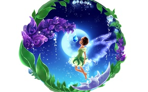 Picture flowers, tale, fairy