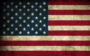 Wallpaper Flag, USA