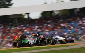 Picture Germany, formula, formula one, sahara force india, Nico Hunkelberg., one f1, grand prix German Hockenheim