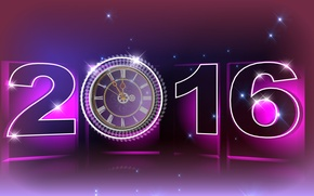 Picture holiday, watch, new year